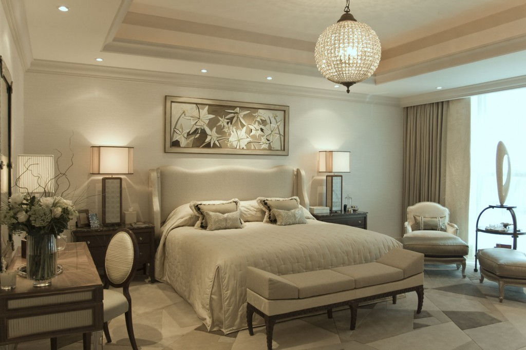 Presidential apartment dubai louis henri for Interior design bedroom classic
